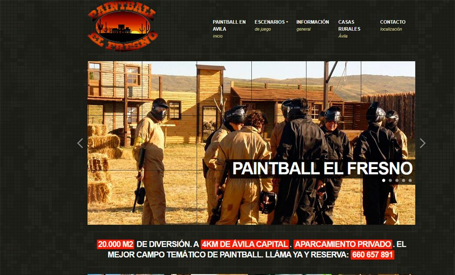 Paintball El Fresno