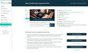 Ejemplo Web Certificada